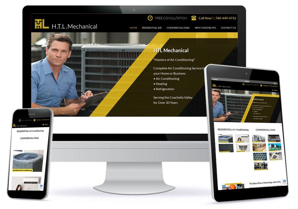 HTL Mechanical Website